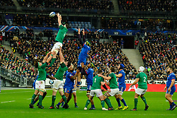 February 3, 2018 - Saint Denis, Seine Saint Denis, France - The Flanker of Irish team PETER O MAHONY in action during the NatWest Six Nations Rugby tournament between France and Ireland at the Stade de France - St Denis - France..Ireland Won 15-13 (Credit Image: © Pierre Stevenin via ZUMA Wire)