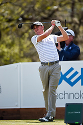 March 21, 2018 - Austin, TX, U.S. - AUSTIN, TX - MARCH 21: Justin Thomas hits a tee shot during the First Round of the WGC-Dell Technologies Match Play on March 21, 2018 at Austin Country Club in Austin, TX. (Photo by Daniel Dunn/Icon Sportswire) (Credit Image: © Daniel Dunn/Icon SMI via ZUMA Press)