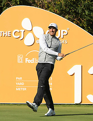 Oct 19, 2018-Jeju, South Korea-JAMIE LOVEMARK of USA action on the 13th tee during the PGA Golf CJ Cup Nine Bridges Round 2 at Nine Bridges Golf Club in Jeju, South Korea.