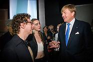 Koning Willem Alexander opent dinsdag 18 oktober 2016 samen met Zijne Majesteit Koning Filip der Bel