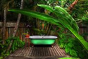 Fleming House Exterior Bathroom - Goldeneye - Jamaica