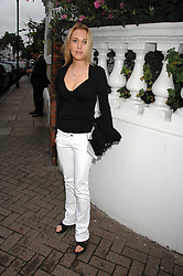 IMOGEN LLOYD WEBBER at the annual Sir David & Lady Carina Frost Summer Party in Carlyle Square, London SW3 on 5th July 2007.<br /><br />NON EXCLUSIVE - WORLD RIGHTS