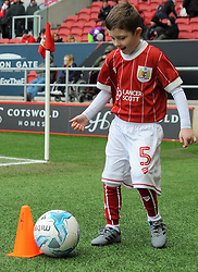 Bristol City mascot warms up - Mandatory by-line: Nizaam Jones/JMP - 17/03/2018 - FOOTBALL - Ashton Gate Stadium- Bristol, England - Bristol City v Ipswich Town - Sky Bet Championship