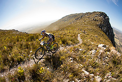 Henrique Avancini of Cannonade Factory Racing during stage 1 of the 2017 Absa Cape Epic Mountain Bike stage race held from Hermanus High School in Hermanus, South Africa on the 20th March 2017<br /> <br /> Photo by Nick Muzik/Cape Epic/SPORTZPICS<br /> <br /> PLEASE ENSURE THE APPROPRIATE CREDIT IS GIVEN TO THE PHOTOGRAPHER AND SPORTZPICS ALONG WITH THE ABSA CAPE EPIC<br /> <br /> ace2016