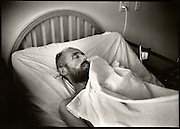 """Documentary photo essay about some of the men and women living and battling the ravaging and horrific effects of AIDS, at the Bailey-Boushay House, an AIDS Hospice, in Seattle, WA., from June 1992 to April 1995.<br /> <br /> Opened in June 1992, B.B.H. was developed by AIDS Housing of Washington as the first new nursing care residence and day health program in America for HIV/AIDS patients.<br /> <br /> Our purposes were to humanize AIDS, to compel the viewer to say """"this could be me,"""" and to educate those who did not see the disease and its victims face to face; and, to show the dignity and loving care that the B.B.H. community - the staff, volunteers, and families - provided to people living with AIDS in their final stages of life. """"It provides a respectful place for a major passage in life,"""" said Administrator Christine Hurley.<br /> <br /> It gave us immense satisfaction that the portraits gave many of the clients a new sense of self esteem as they still felt worthy and important to be photographed, and that they trusted us to tell their story and share it."""