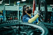 MANNING, SC – OCTOBER 2, 2020: Scenes from Bicycle Corp of America.