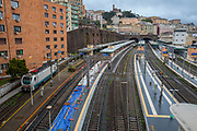 Brignole railway station central Genoa Liguria region Italy