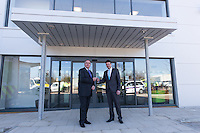 Commercial photography from when the Secretary of State for Transport opens Island Roads' new headquarters in Daish Way, Newport, Isle of Wight
