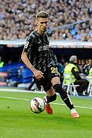 Malaga´s Samuel Castillejo during 2014-15 La Liga match between Real Madrid and Malaga at Santiago Bernabeu stadium in Madrid, Spain. April 18, 2015. (ALTERPHOTOS/Luis Fernandez)