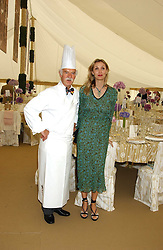 ANTON MOSIMANN and ALLEGRA HICKS at the 2005 Cartier International Polo between England & Australia held at Guards Polo Club, Smith's Lawn, Windsor Great Park, Berkshire on 24th July 2005.<br /><br />NON EXCLUSIVE - WORLD RIGHTS