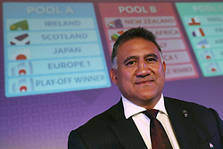 KYOTO, JAPAN - MAY 10: Jamie Joseph, Head Coach of Japan poses during the Rugby World Cup 2019 Pool Draw at the Kyoto State Guest House on May 10, in Kyoto, Japan. Photo by Dave Rogers - World Rugby/PARSPIX/ABACAPRESS.COM