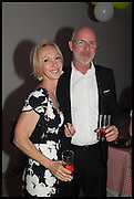 ADELE DOWNEY; RON DOWNEY, Matt's Gallery 35th birthday fundraising supper.  42-44 Copperfield Road, London E3 4RR. 12 June 2014.
