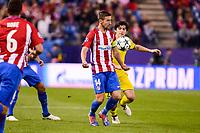 "Atletico de Madrid's player Gabriel ""Gabi"" Fernández during a match of UEFA Champions League at Vicente Calderon Stadium in Madrid. November 01, Spain. 2016. (ALTERPHOTOS/BorjaB.Hojas)"