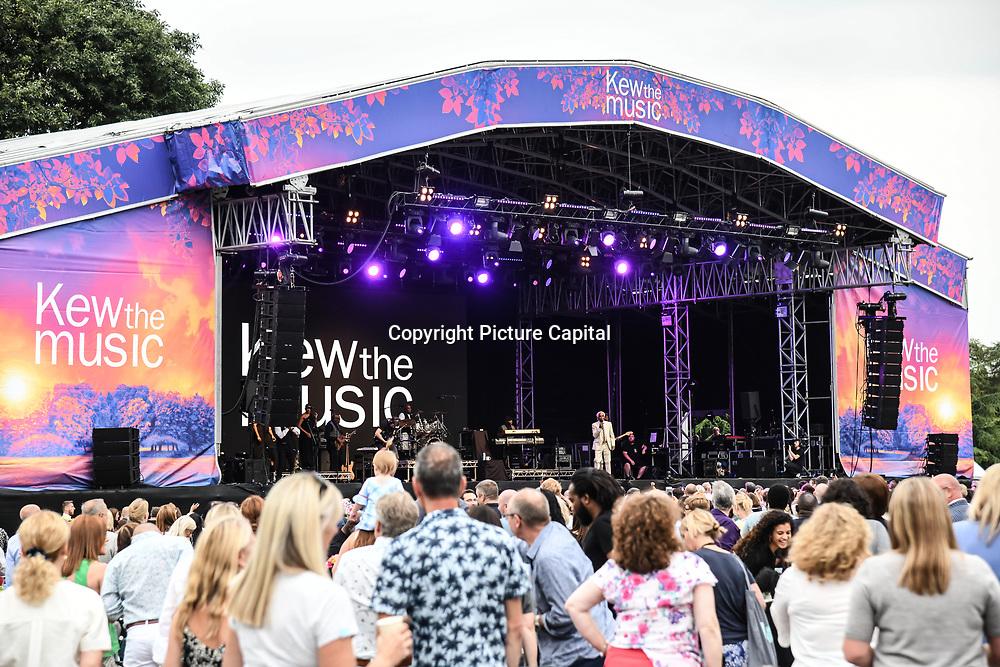Billy Ocean performs at Kew The Music 2019 on 9 July 2019, Kew Garden, London, UK.