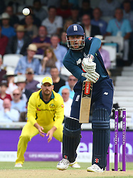 June 13, 2018 - London, England, United Kingdom - England's Alex Hales .during One Day International Series match between England and Australia at Kia Oval Ground, London, England on 13 June 2018. (Credit Image: © Kieran Galvin/NurPhoto via ZUMA Press)