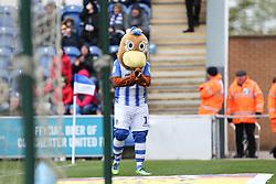 Colchester United mascot - Mandatory by-line: Arron Gent/JMP - 27/04/2019 - FOOTBALL - JobServe Community Stadium - Colchester, England - Colchester United v Milton Keynes Dons - Sky Bet League Two