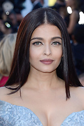 File photo dated May 19, 2017 of Aishwarya Rai attending the Okja Screening as part of the 70th Cannes Film Festival in Cannes, France. Aishwarya Rai Bachchan has been taken to hospital after testing positive for Covid-19 earlier this week. The Indian actress, a former Miss World and one of Bollywood's most famous faces, is being treated at Mumbai's Nanavati Hospital, it was reported. her daughter Aaradhya has also been taken to hospital. Photo by Aurore Marechal/ABACAPRESS.COM