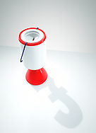 Charity Collection Box with Pound Symbol as Shadow