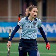 LAREN -  Hockey Hoofdklasse Dames: Laren v Pinoké, seizoen 2020-2021. Foto: Sophie Schelfhout (Laren)