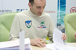 Roman Kejzar when Slovenian athletes and their coaches sign contracts with Athletic federation of Slovenia for year 2009,  in AZS, Ljubljana, Slovenia, on March 2, 2009. (Photo by Vid Ponikvar / Sportida)