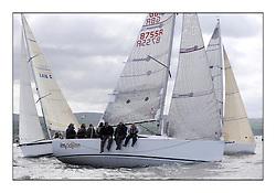 Savills Kip Regatta 2011, the opening regatta of the Scottish Yachting Circuit, held on the Clyde...Class 3, Imadjinn, GBR8755R, A31.