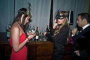 DOROTHY BANY; JOYCE MERCEDES, Francesca Bortolotto Possati, Alessandro and Olimpia host Carnevale 2009. Venetian Red Passion. Palazzo Mocenigo. Venice. February 14 2009.  *** Local Caption *** -DO NOT ARCHIVE -Copyright Photograph by Dafydd Jones. 248 Clapham Rd. London SW9 0PZ. Tel 0207 820 0771. www.dafjones.com<br /> DOROTHY BANY; JOYCE MERCEDES, Francesca Bortolotto Possati, Alessandro and Olimpia host Carnevale 2009. Venetian Red Passion. Palazzo Mocenigo. Venice. February 14 2009.