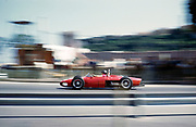 Formula One motor racing Monaco Grand Prix 1961 Richie Ginther in Ferrari 156 F1 sharknose at Sainte Devote