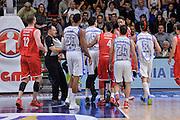 DESCRIZIONE : Beko Legabasket Serie A 2015- 2016 Playoff Quarti di Finale Gara3 Dinamo Banco di Sardegna Sassari - Grissin Bon Reggio Emilia<br /> GIOCATORE : Achille Polonara Joe Alexander<br /> CATEGORIA : Fair Play Rissa Espulsione<br /> SQUADRA : Grissin Bon Reggio Emilia<br /> EVENTO : Beko Legabasket Serie A 2015-2016 Playoff<br /> GARA : Quarti di Finale Gara3 Dinamo Banco di Sardegna Sassari - Grissin Bon Reggio Emilia<br /> DATA : 11/05/2016<br /> SPORT : Pallacanestro <br /> AUTORE : Agenzia Ciamillo-Castoria/L.Canu
