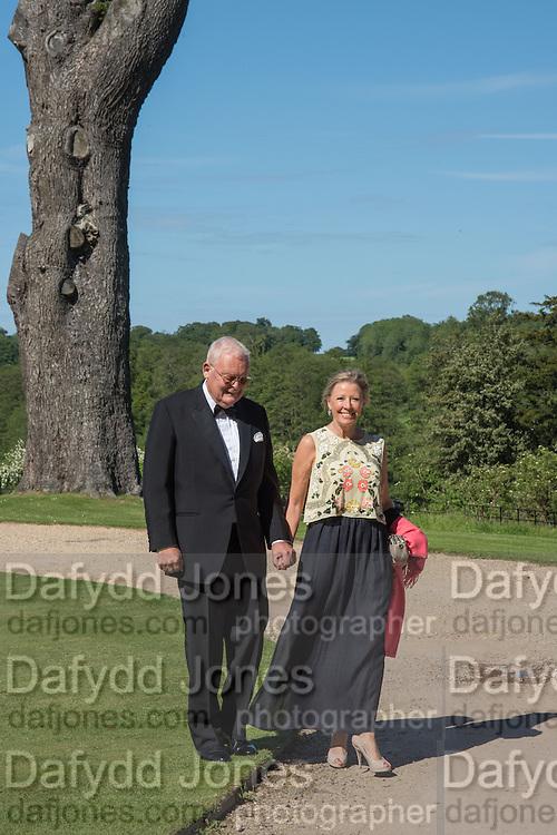 BARRY HAIGH; JILL HAIGH, Opening of Grange Park Opera, Fiddler on the Roof, Grange Park Opera, Bishop's Sutton, <br /> Alresford, 4 June 2015
