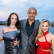 NLD/Amsterdam/20160601 - Uitreiking Porna Awards 2016, Zimra Geurts en hoofdrolspelers van haar Pornafilm