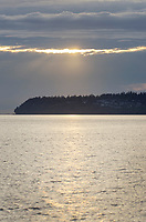 Semiahmoo Bay sunset, Blaine Washington