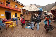 Pisac market  Pisac, Peru