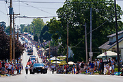 03 JULY 2021 - NORWALK, IOWA: The 4th of July parade in Norwalk, Iowa. Last year's parade was cancelled because of the COVID-19 pandemic. Norwalk is an agricultural community south of Des Moines. In recent years, Norwalk has become a suburb of Des Moines.        PHOTO BY JACK KURTZ