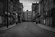Manchester, Saturday evening during lockdown