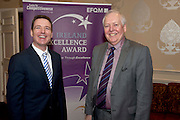 31/01/2014 REPRO free.<br /> <br /> The EFQM(European Business Excellence based Awards in Ireland)  prestigious recognition scheme awards ceremony  at the Galway Bay Hotel . AT the event was Dan Murphy GBH and Bob Barbour<br /> Director & Chief Executive<br /> Centre for Competitiveness. <br />  Established by the private sector, the Centre for Competitiveness (CforC) is an independent, not-for-profit membership organisation operating on the Island of Ireland with offices in Belfast and Dublin. The Centre is the national partner for the European Foundation for Quality Management, Brussels (EFQM) in Ireland and the certification partner for the UK and Ireland (ADS) aerospace, defence and security supply base. It is an active member of the Global Federation of Competitive Councils, Washington USA. The Centre is dedicated to improving the quality and competitiveness of individual organisations in the private, public and voluntary sectors and to build best in class performance through International Leadership and Innovation, Productivity Improvement, and Quality Excellence in all sectors.Photo:Andrew Downes