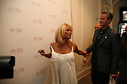 Pamela Anderson and Dan Matthews, PETA's Humanitarian Awards, Stella McCartney, Bruton Street, London, W1. 28 June 2006. ONE TIME USE ONLY - DO NOT ARCHIVE  © Copyright Photograph by Dafydd Jones 66 Stockwell Park Rd. London SW9 0DA Tel 020 7733 0108 www.dafjones.com