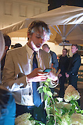 GEORGE LAMB, Dinner to celebrate the opening of the first Berluti lifestyle store hosted by Antoine Arnault and Marigay Mckee. Harrods. London. 5 September 2012.