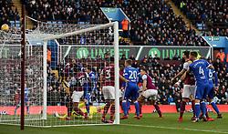 Ipswich Town's Joe Garner has his close range goal disallowed