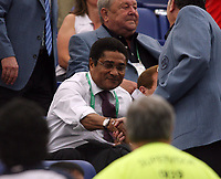 Photo: Chris Ratcliffe.<br /> England v Portugal. Quarter Finals, FIFA World Cup 2006. 01/07/2006.<br /> Eusebio of Portugal at the game.