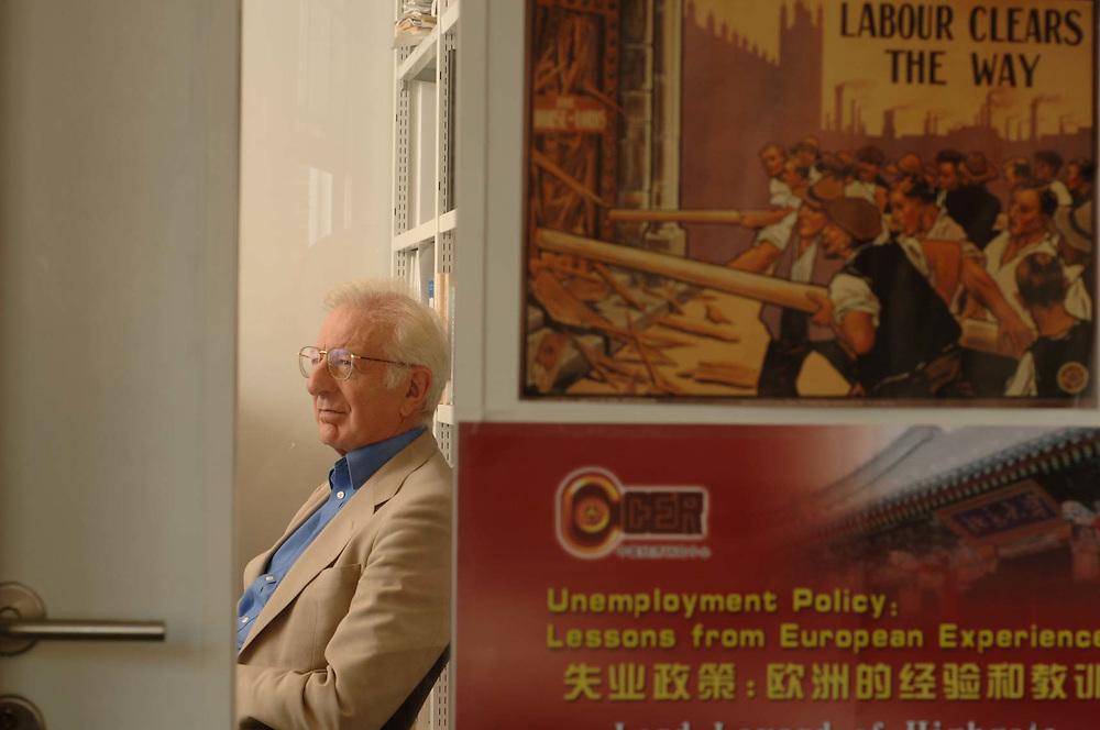 Prof. Lord Richard Layard, of the London School of Economics.