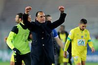 Joie Nantes / Michel DER ZAKARIAN  - 20.01.2015 - Nantes / Lyon  - Coupe de France 2014/2015<br />Photo : Vincent Michel / Icon Sport