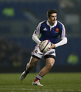 Thomas Ramos during the 2015 Under 20s 6 Nations match between England and France at the American Express Community Stadium, Brighton and Hove, England on 20 March 2015.