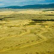 North America, United States, US, Northwest, Pacific Northwest, West, Alaska, Kobuk, Kobuk Valley, Kobuk Valley National Park, Kobuk Valley NP. Great Kobuk Sand Dunes in Kobuk Valley National Park, Alaska.