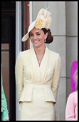 June 8, 2019 - London, London, United Kingdom - Image licensed to i-Images Picture Agency. 08/06/2019. London, United Kingdom. The Duchess of Cambridge  at Trooping the Colour in London. (Credit Image: © Stephen Lock/i-Images via ZUMA Press)