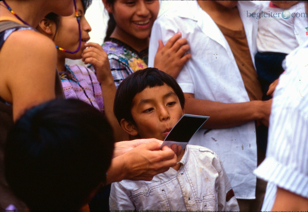 Photographs from Guatamala of workers, women and children.