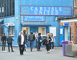 A general view of Brunton Park, home of Carlisle United