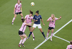 Caroline WEIR (SCO), Sole JAIMES (ARG) in action during the match of 2019 FIFA Women's World Cup France group D match between Scotland and Argentina, at Parc Des Princes stadium on June 19, 2019 in Paris, France. Photo by Loic Baratoux/ABACAPRESS.COM