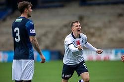 Falkirk's Louis Longridge celebrates after scoring their first goal. Raith Rovers 2 v 2 Falkirk, Scottish Football League Division One played 5/9/2019 at Stark's Park, Kirkcaldy.