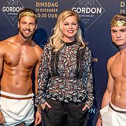 NLD/Amsterdam/20161213 - Inloop gasten The Roast of Gordon, Bridget Maasland en naakte modellen,