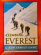 Climbing Everest - A New Family Game, 1954, manufactured aftr 1st ascent of Everest in 1953